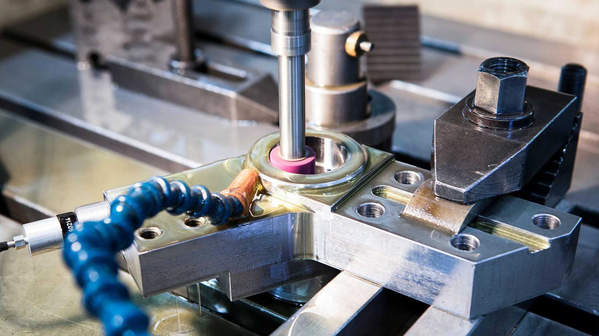 Herstellung von Maschinenteilen