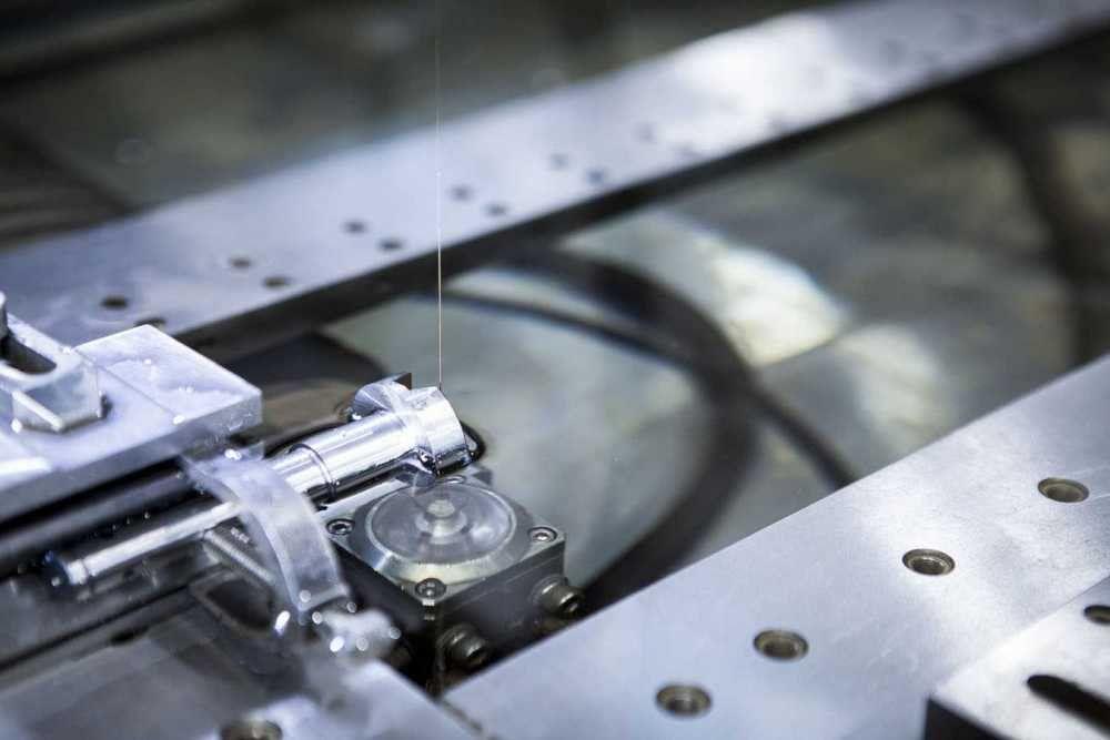 EDM machining